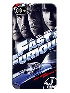 Beauty sincere design tpu skin case cover for iphone 4/4s of Fast and Furious in Fashion E-Mall