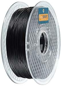 FlexiSMART Negro 1kg Filamento Flexible TPU 1.75mm para Impresora 3D - Flexible Filament for 3D Printing - TPE Filament, TPU Filament, Elastic Filament