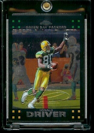 2007 Topps Chrome # TC79 Donald Driver - NFL Football Cards
