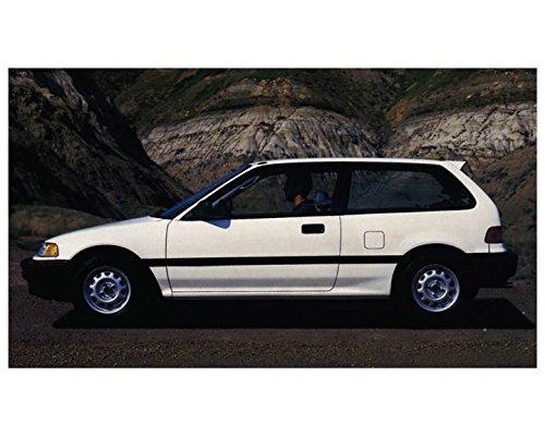 1988 Honda Civic Hatchback Automobile Photo Poster