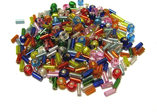 Linpeng Bugle Beads and Seed Bead, Assorted