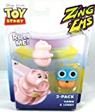 Disney Pixar Toy Story ZingEms - 2 Pack Hamm & Lenny