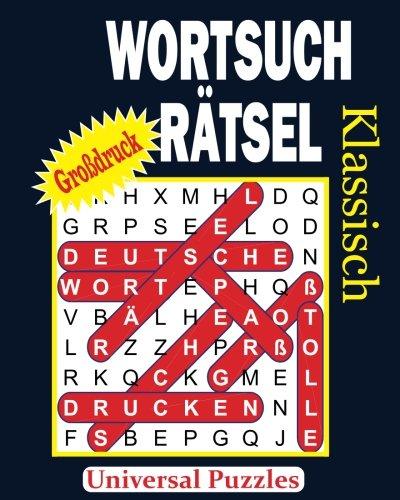 WORTSUCHRÄTSEL - Klassisch