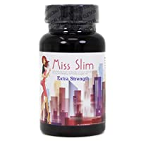 Miss Slim Extra Strength Weight Loss Pills for Women – Clinically Proven Fast Fat Binder – Fat burner Diet Pill by Miss Slim 30 Veggie Cap (Extra Strength - 30 Count)