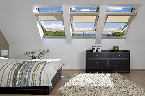 FAKRO Dachfenster Schwingfenster Aus Holz FTP-V U3 Z-Wave 55 x 78