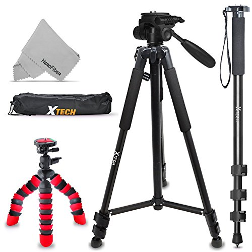 Xtech Triple Tripod Kit with 72