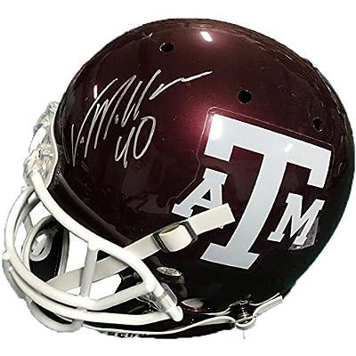 1fae28d1 Deshaun Watson Signed Houston Texans Riddell Blaze Mini Helmet ...