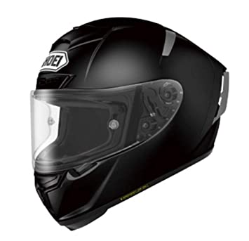 Shoei sólido X-14 Sports Bike Racing – Casco de motorista, color negro