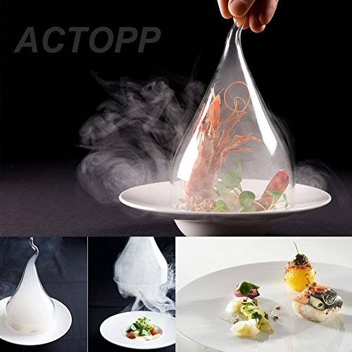 ACTOPP Smoking Gun Food Smoker Smoke Infuser to Enhance Taste Cocktail Whisky Beverage Cool Smoke Kitchen Outdoor BBQ (silver-New package) by ACTOPP (Image #5)