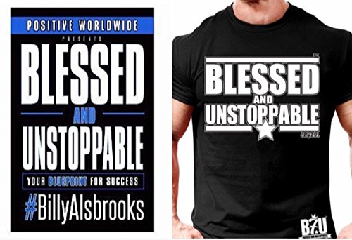 ublishing / B7U Clothing / Billy Alsbrooks Blessed and Unstoppable (TM) Book and T-Shirt Combo with Free B7U Lanyard (2XL) ()