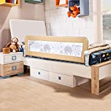 Bed Rail for Toddlers - BabyElf 59 inches (1.5M) Extra Long Swing Down