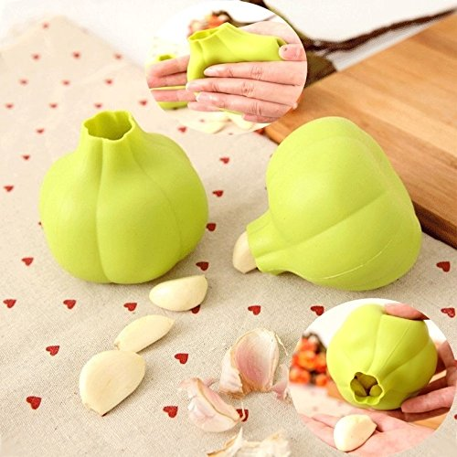 Wing Time Garlic (M$M shop kitchen garlic ginger press manual , peeler, cooking machine, silica gel, garlic press, shaker, peeling)