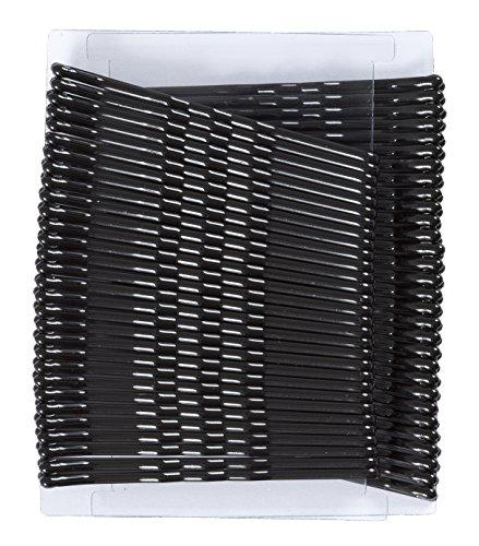 Glamour Style Haarnadeln, Schwarz, 60 Stück