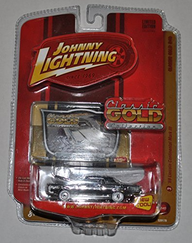 1969 Lincoln Continental Mark III (Silver) - Classic Gold Collection - Johnny Lightning - Diecast Car
