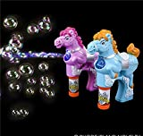 7.5'' LIGHT-UP HORSE BUBBLE BLASTER WITH SOUND, Case of 12