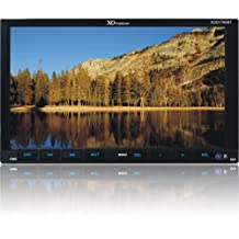 XO Vision XOD1760BT 7-Inch Double Din Touch Screen DVD Receiver with Bluetooth