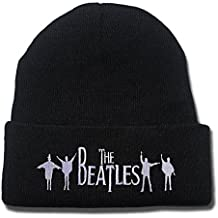 The Beatles Rock Band Logo Beanie Fashion Unisex Embroidery Beanies Skullies Knitted Hats Skull Caps