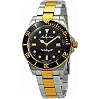 Mathey Tissot Rolly Vintage Black Dial Men's Watch