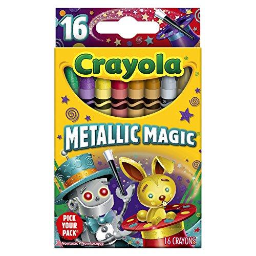 Crayola Metallic Magic Count Crayon