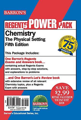 Chemistry Power Pack (Regents Power Packs)