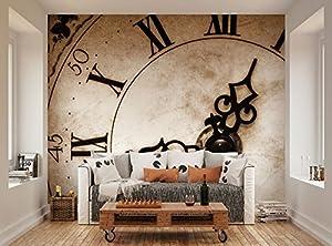 Ohpopsi Classic Clock Face Wall Mural Amazon Co Uk