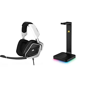 Corsair VOID PRO RGB USB - Auriculares Gaming (PC, USB, Dolby 7.1)