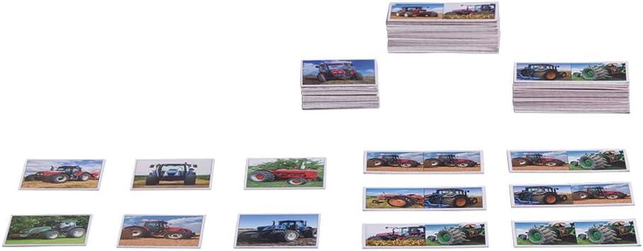 Piatnik 6594 Tractors Memory//Domino Game