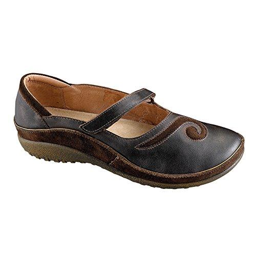 Naot Matai Koru Vrouwen Flats Schoenen Zwarte Parel / Hash Combo