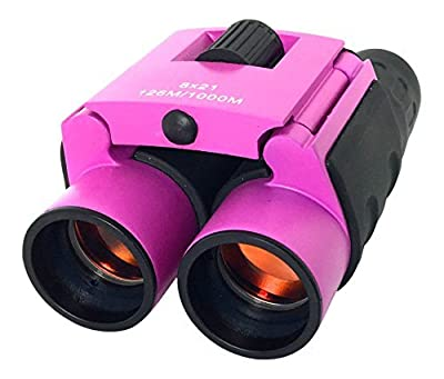 iClarity Binoculars for Kids, Compact Size Designed for Small Hands, Durable with Shockproof Nonslip Grips, Premium Lens for High Clarity; Ideal Children Gift for Discovery & Lasting Fun