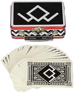 Bif Bang Pow! Twin Peaks Mini Tin Tote Bag with Deck of Playing Cards