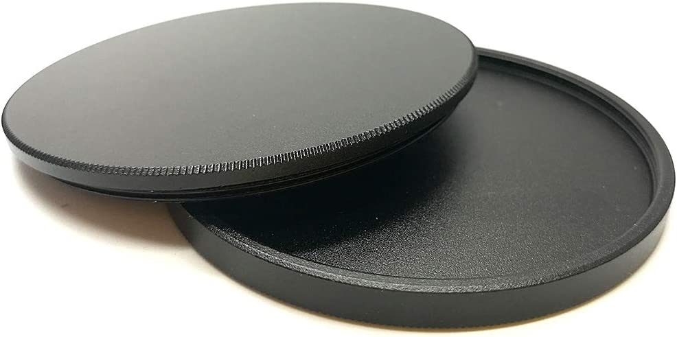 Balaweis 77mm Metal Lens Filter Cap Protective Cover Case Replacement for Canon Nikon Sony DSLR Camera