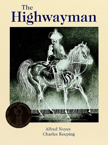 Printables Highwayman Poem the highwayman amazon co uk alfred noyes charles keeping 9780192723703 books