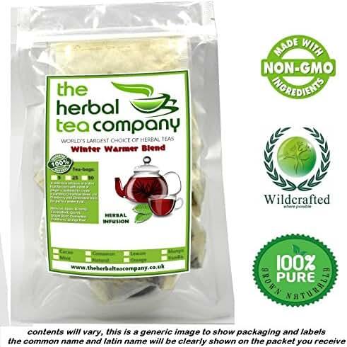 Organic Eyebright Tea Bags Winter Warmer Blend Natural 50 Pack