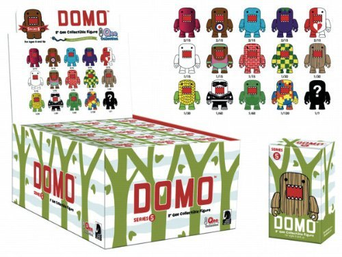 Domo Qee Mystery Series 5 Mini Figures  One Random Figure