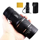 Balight Day and Night Vision Super Clear 16x52 Dual Focus Optics Zoom Monocular Telescope for Birds/Wildlife/hunting/camping/hiking/Tourism/Armoring 66m/ 8000m