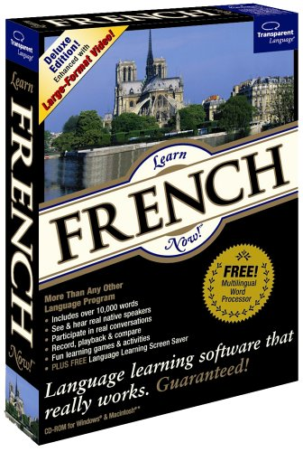 Transparent Language FE R09 8 CD Learn French product image