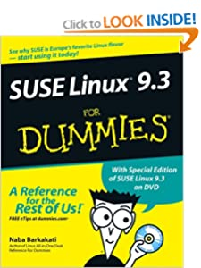 SUSE Linux 9.3 For Dummies Naba Barkakati