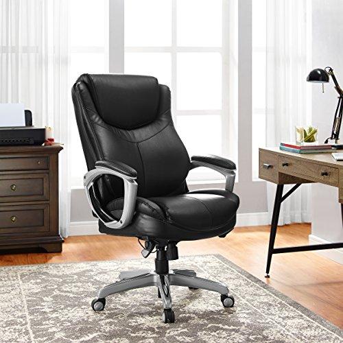 LaZBoy Black Bonded Executive Chair