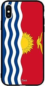 iPhone XS / 10s Case Cover Kiribati Flag Zoot High Quality Design Phone Covers