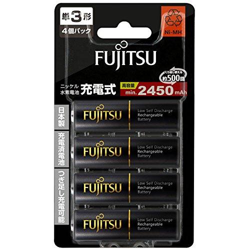 Review Fujitsu nickel-metal hydride rechargeable