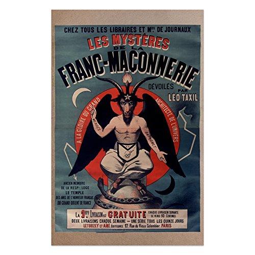 The Masonic Exchange Masonic Baphomet Poster - 11