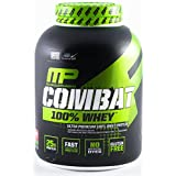 Musclepharm Combat 100-Percent Whey Protein Powder, Strawberry, 5 lb