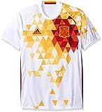 International Soccer Spain Men's Jersey, Large, White/Red