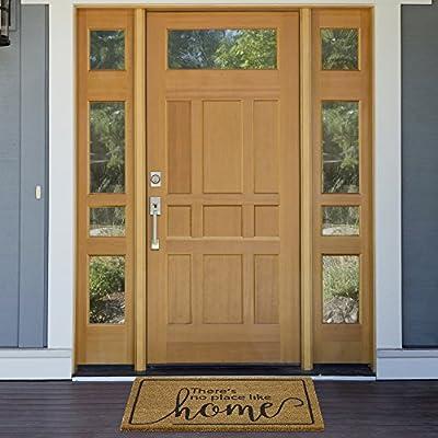 "Achim Home Furnishings PCM1830DO6 Dorothy Printed Coir Door Mat, 18"" x 30"""