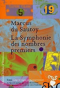 La Symphonie des nombres premiers par Sautoy