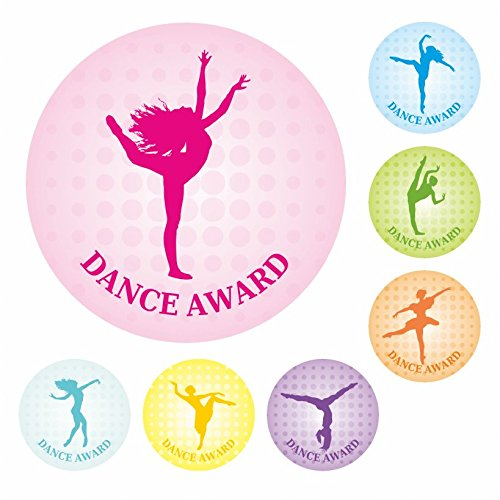 Dance Award Stickers