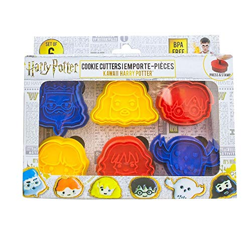 Harry Potter - Cookie Cutters - Set of 6 - Official...