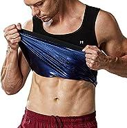 HOTER Men Sauna-Sweat-Vest Slimming-Shapewear Comression-Fitness Body Shaper Workout Tank Top Polymer Trainer