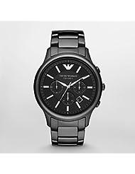 Armani Renato Ceramica Mens Watch - Black