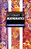 Dictionary of Mathematics, John D. Berry and Ted Graham, 1579581579